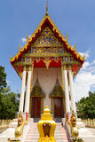 Pattern the Church in Thailand temple. In Thailand Royalty Free Stock Images