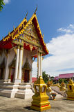 Pattern the Church in Thailand temple. In Thailand Royalty Free Stock Image