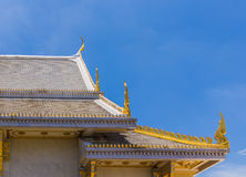 Pattern the Church in Thailand temple Stock Photography