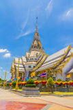 Pattern the Church in Thailand temple Royalty Free Stock Images