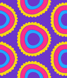 Pattern circle. Pattern  floral complex seamless circle Stock Image