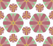 Pattern circle. Pattern  floral complex seamless circle Stock Images