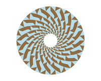 Pattern circle v2 Royalty Free Stock Images