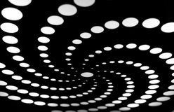 Pattern of circles Stock Images