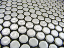 Pattern of circles. Pattern of round white circles Royalty Free Stock Photo