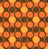 Pattern of circles Royalty Free Stock Photo