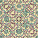 Pattern with circles Royalty Free Stock Photography