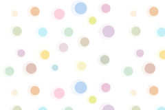 Pattern with circles Royalty Free Stock Image