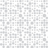 Pattern with circles, dotted background. Seamlessly repeating. Royalty Free Stock Images