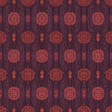 The pattern of circles on the fabric.  Royalty Free Stock Photo