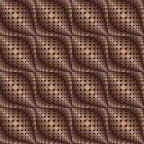 Pattern of circles and ovals 1. Pattern of circles and ovals in brown tones1 stock illustration