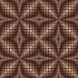 Pattern of circles and ovals 2. Pattern of circles and ovals in brown tones2 stock illustration