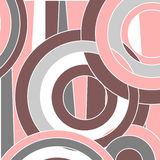 Pattern with circles royalty free illustration