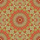Pattern with circles of red and green Royalty Free Stock Photography
