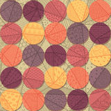 Pattern with circles Stock Photo