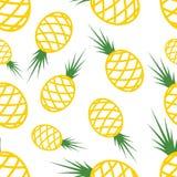 Pattern Circuit Pineapples Stock Photos