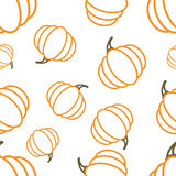 Pattern Circuit Pumpkin Royalty Free Stock Images