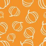 Pattern Circuit Pumpkin Royalty Free Stock Photography