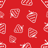 Pattern Circuit Strawberries Royalty Free Stock Photo