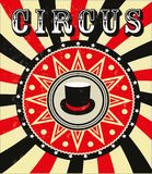 Pattern of the circus Stock Photos