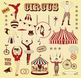 Pattern of the circus royalty free illustration
