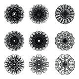 Pattern cirle design 11. Pattern circle graphic design decorate Royalty Free Stock Photography