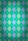 Pattern with a classic Argyll pattern. In vintage style Royalty Free Illustration