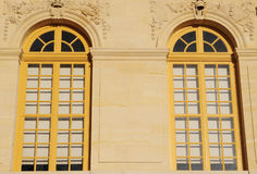 Pattern of Classical  building with big window Royalty Free Stock Images