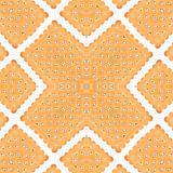 Pattern of Closeup biscuit Stock Photography