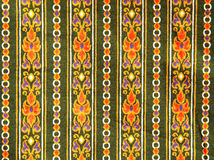 Pattern of cloth fabric thai. Stock Image