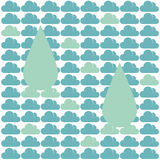 Pattern Cloud Rain Stock Photo