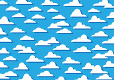 Pattern Clouds Stock Photography