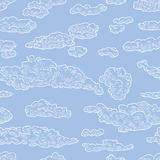Pattern of clouds Stock Image