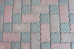 Pattern of cobblestone Stock Photo