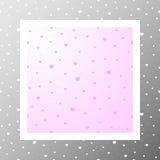Pattern-002 - coeur-points statiques Photo libre de droits