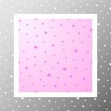 Pattern-001 - coeurs statiques Image libre de droits