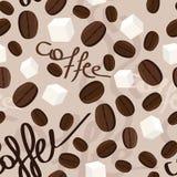 Pattern coffee Stock Photography