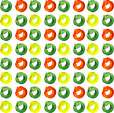 Pattern color circle arrows. Round  pattern Stock Photo