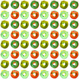 Pattern color circle arrows Stock Photos