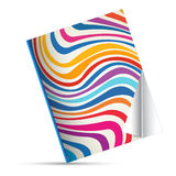 Pattern color magazine. Vector book Royalty Free Stock Photos