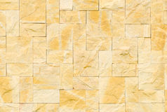 Pattern color of modern style design decorative real stone wall Stock Images