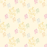 Pattern1. Color pattern swirl. Vector illustration Stock Photography