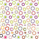 Pattern: colored circle Stock Photo