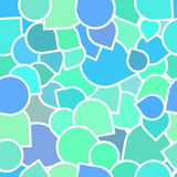 Pattern of colored icons Royalty Free Stock Photos