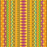 Pattern with colored motifs Royalty Free Stock Photo