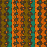 Pattern colored stars Stock Image