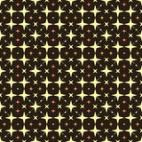 The pattern of colored stars. Background seamless pattern vector illustration abstract colored stars Royalty Free Stock Photos