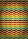 Pattern of colored stripes. On voluminous voluminous background Royalty Free Illustration
