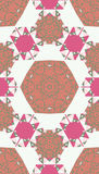 Pattern of colorful abstract mandala shapes 13. Seamless pattern of colorful abstract mandala shapes Stock Photo