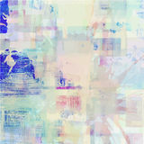 Pattern of colorful abstract watercolor geometric Stock Photo